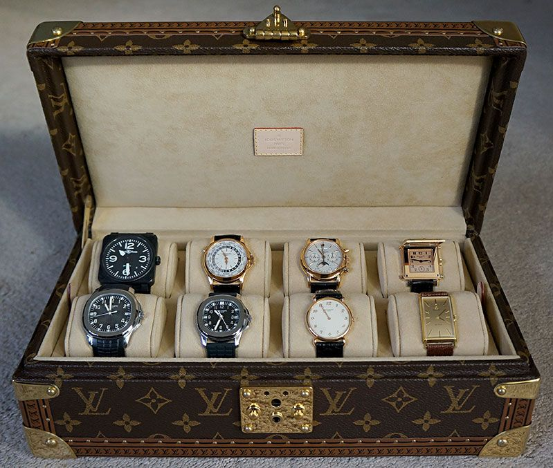 newest f63bb b9646 TimeZone : Patek Philippe » New LV Watch Case With Pateks...I need ...
