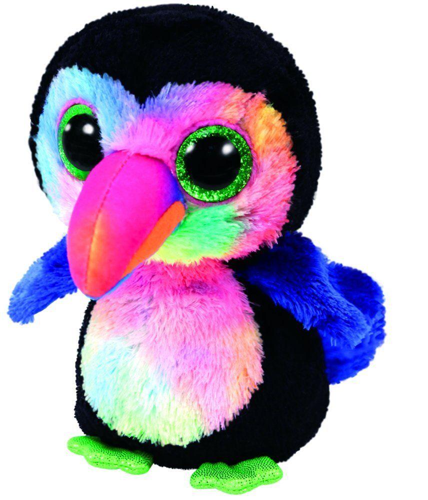 36548829d57 Amazon.com  TY Beanie Boos Plush - Beaks the Toucan  Toys   Games ...