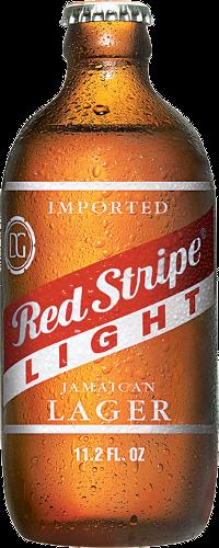 Red Stripe Light Powers Distributing Corona Beer Bottle Beer Red Stripe