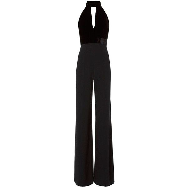 043bca7461b Alexis Women s Dawn Velvet Combo Jumpsuit (€670) ❤ liked on Polyvore  featuring jumpsuits