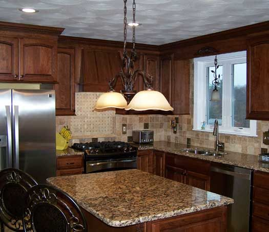 Kitchen Remodel In Coventry, RI. Deisgned By Coventry Lumber In Coventry,  RI.