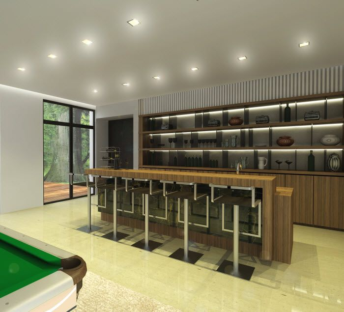 Contemporary Home Bar Design Ideas: Bar Counters Designs Model