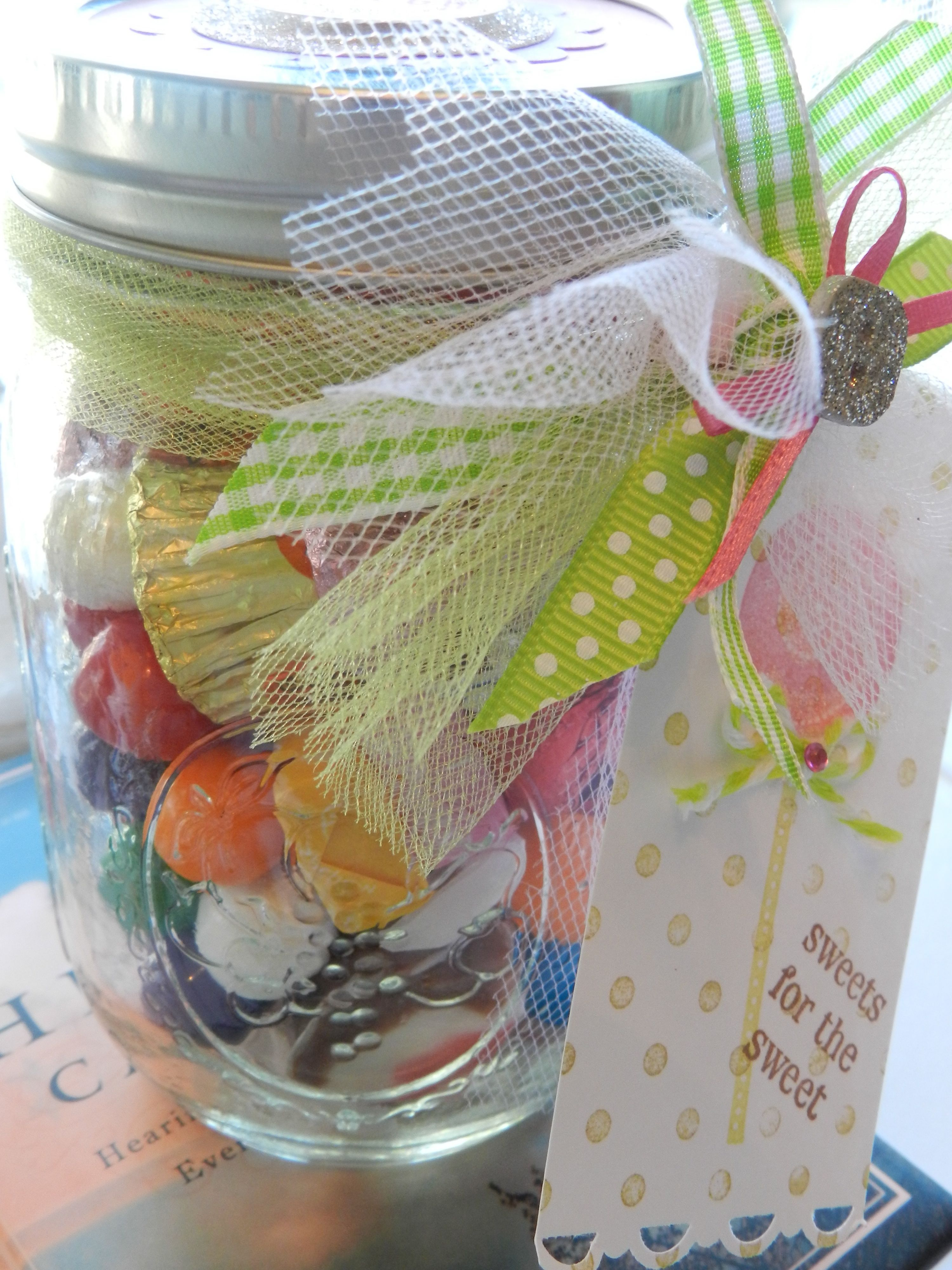 candy jar party favor