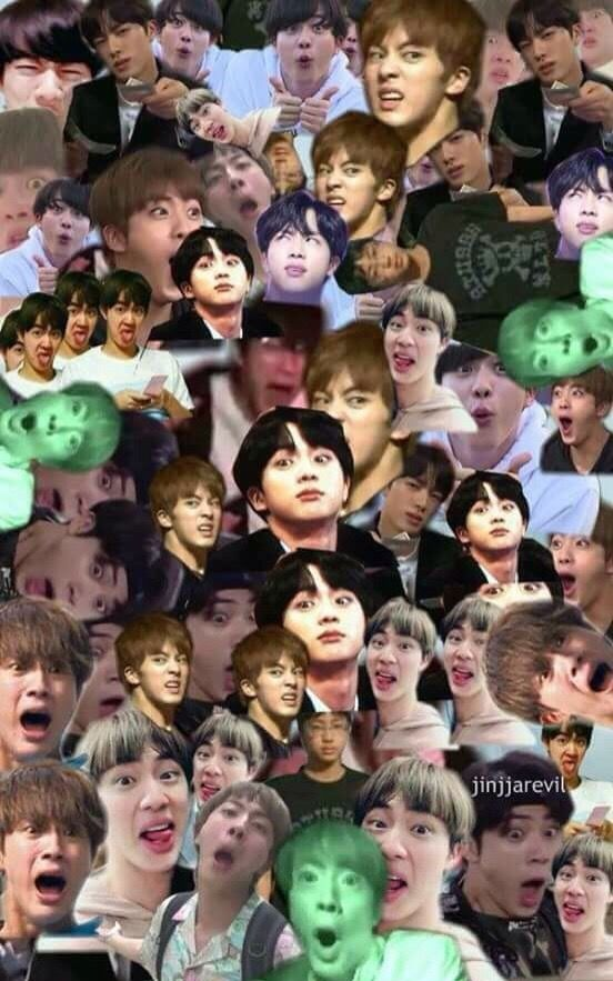 Pin By T On Worldwide Handsome Jin Bts Funny Moments Meme