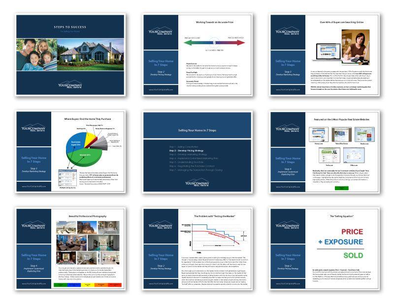 Custom Real Estate Listing Presentations Listing Presentation Real Estate Listing Presentation Real Estate Marketing Design