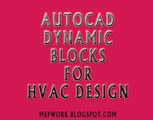 Download Free Autocad Dynamic Blocks For Hvac Dwg Autocad