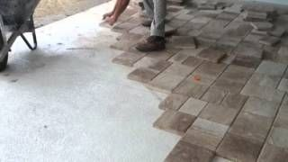 Superb Image Result For Lay Pavers On Concrete Patio