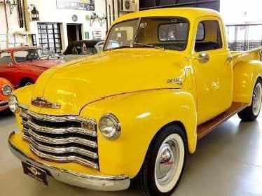 Chevrolet 1948 Caminhonete 1948 Boca De Sapo Chevrolet Gm Amarela