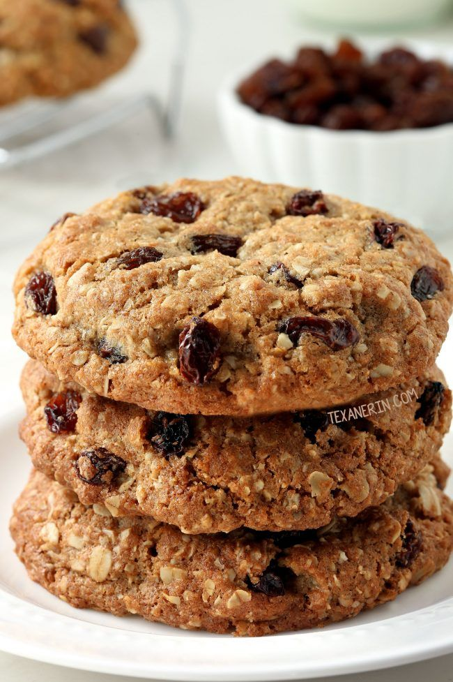 These whole wheat oatmeal raisin cookies are soft and chewy and are just as, if not more delicious, than the traditional version! If you don't…