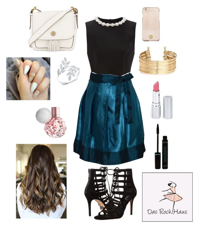 """""""Dasrockhaus"""" by gabbycastronovo ❤ liked on Polyvore featuring Simone Rocha, Michael Kors, Tory Burch, H&M and HoneyBee Gardens"""