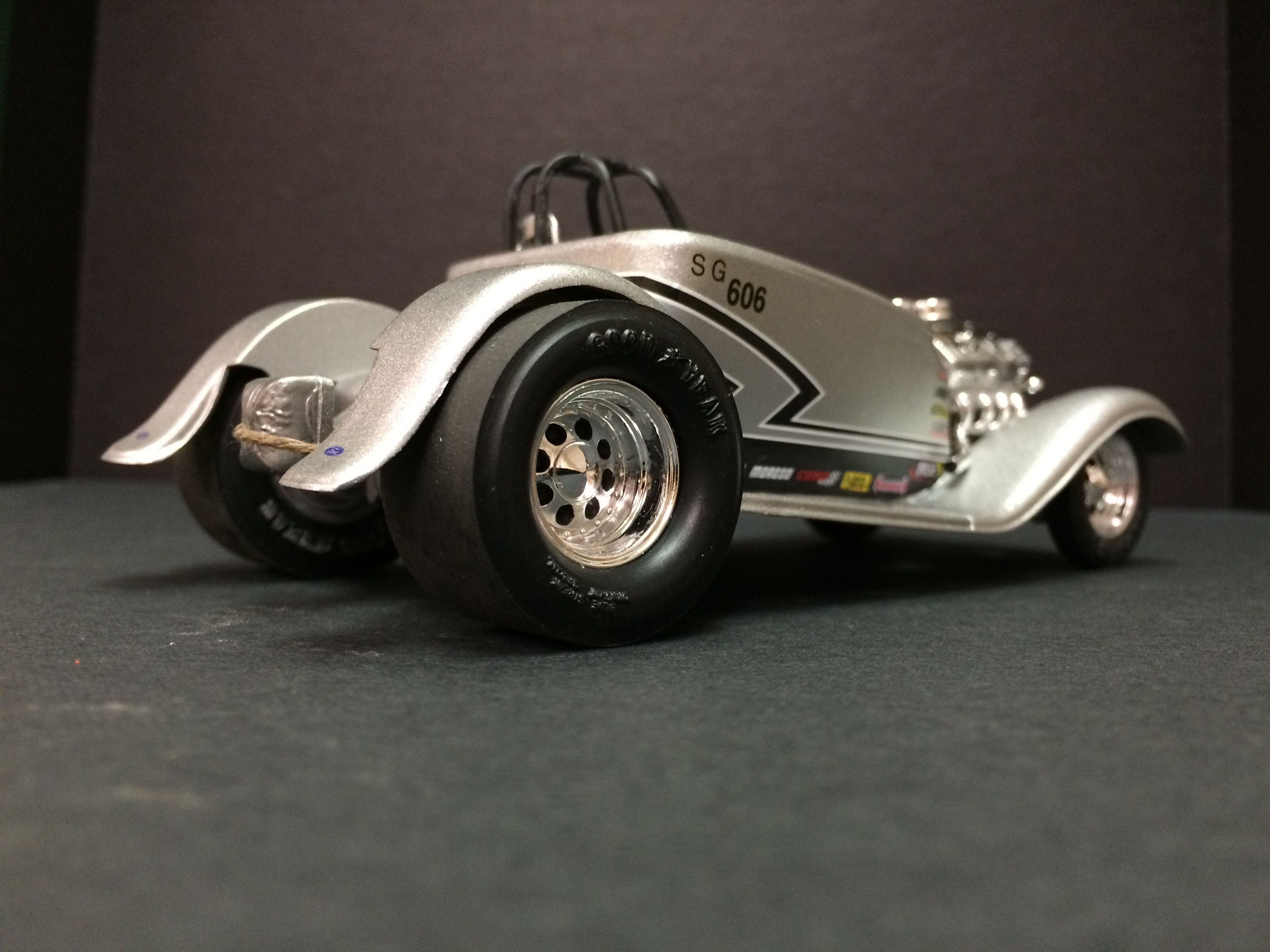 My Wild Child Super Gas Roadster Totally Built From Odds And Ends I Had Collected Over The Past Few Years Scale Models Car Model Model