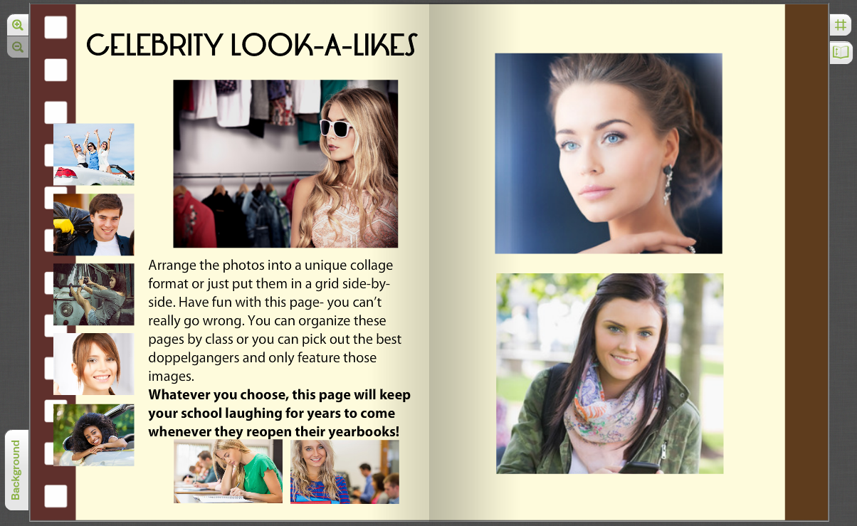 Crowdsourced Yearbook Pages with Custom Student Photos | TreeRing ...