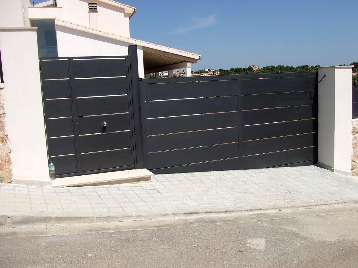Precio puerta corredera exterior for Correderas de aluminio precios