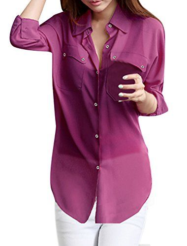 c07c8402d44b7 Allegra K Ladies Point Collar Dolman Sleeve B… « Elegant Women Fashion  Secrets