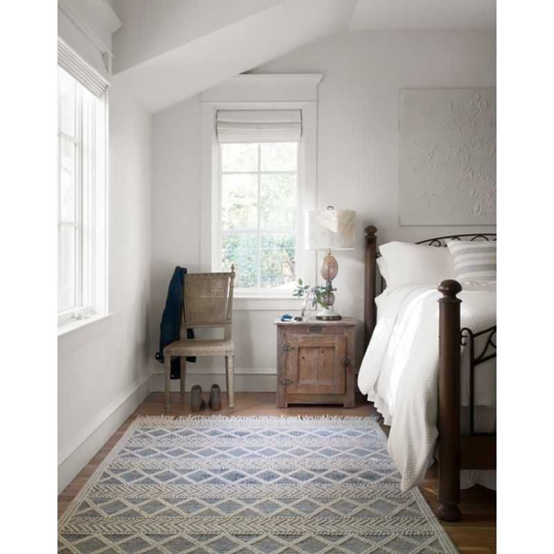 Loloi Magnolia Home Holloway Rug  Navy and Ivory is part of Living Room Rug Joanna Gaines -