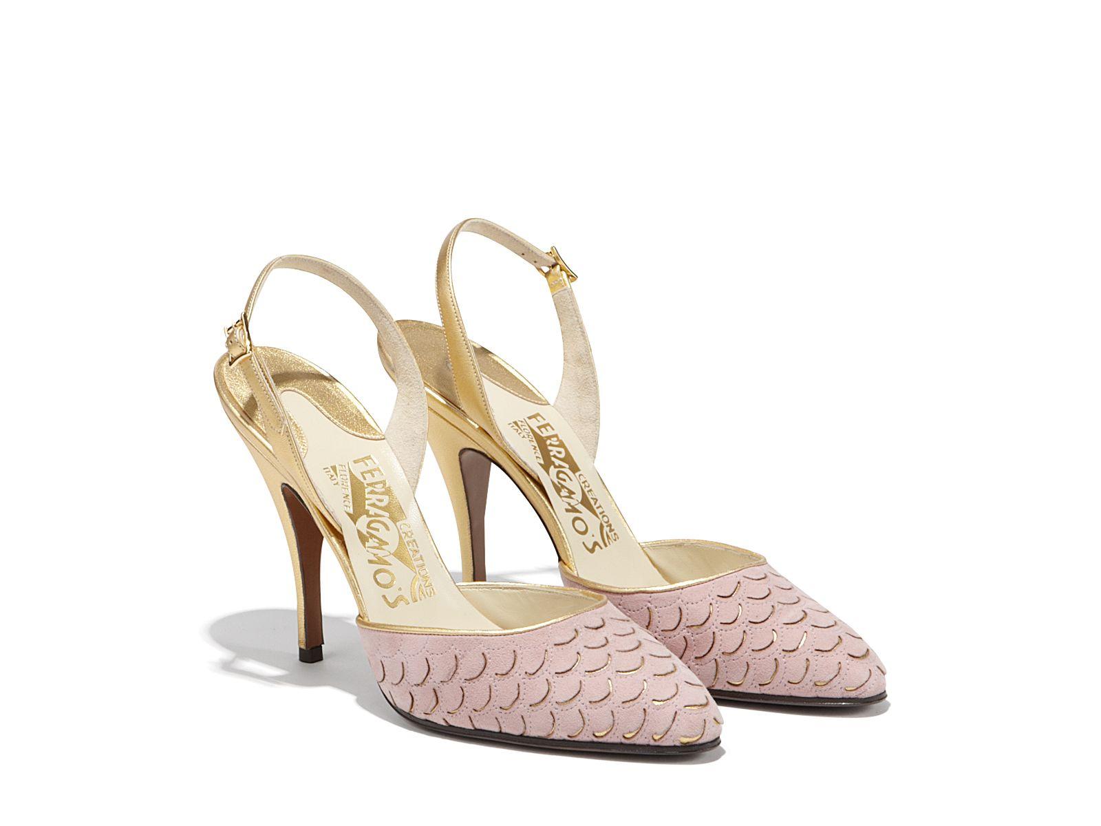 Salvatore Ferragamo Creations Pointed-Toe Pumps discounts online sbxfZURGNg