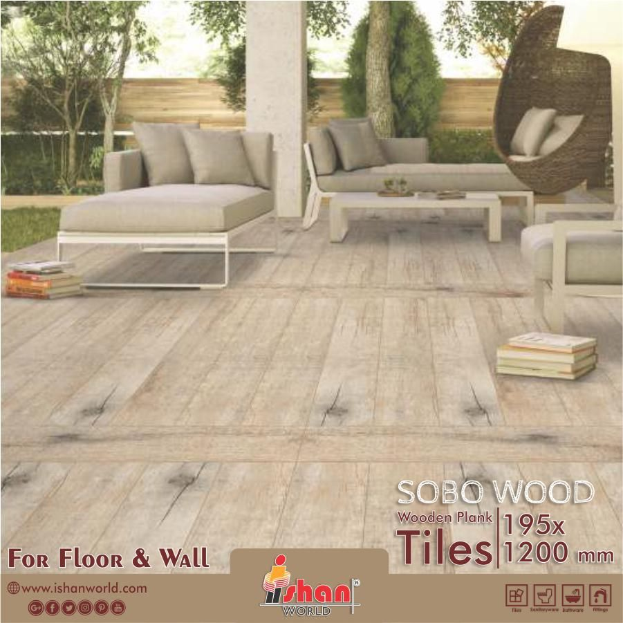 Upcoming Wooden Plank Tiles For Your Home Wall Floor In 195x1200