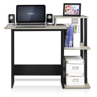 Furinno Shelf Computer Desk