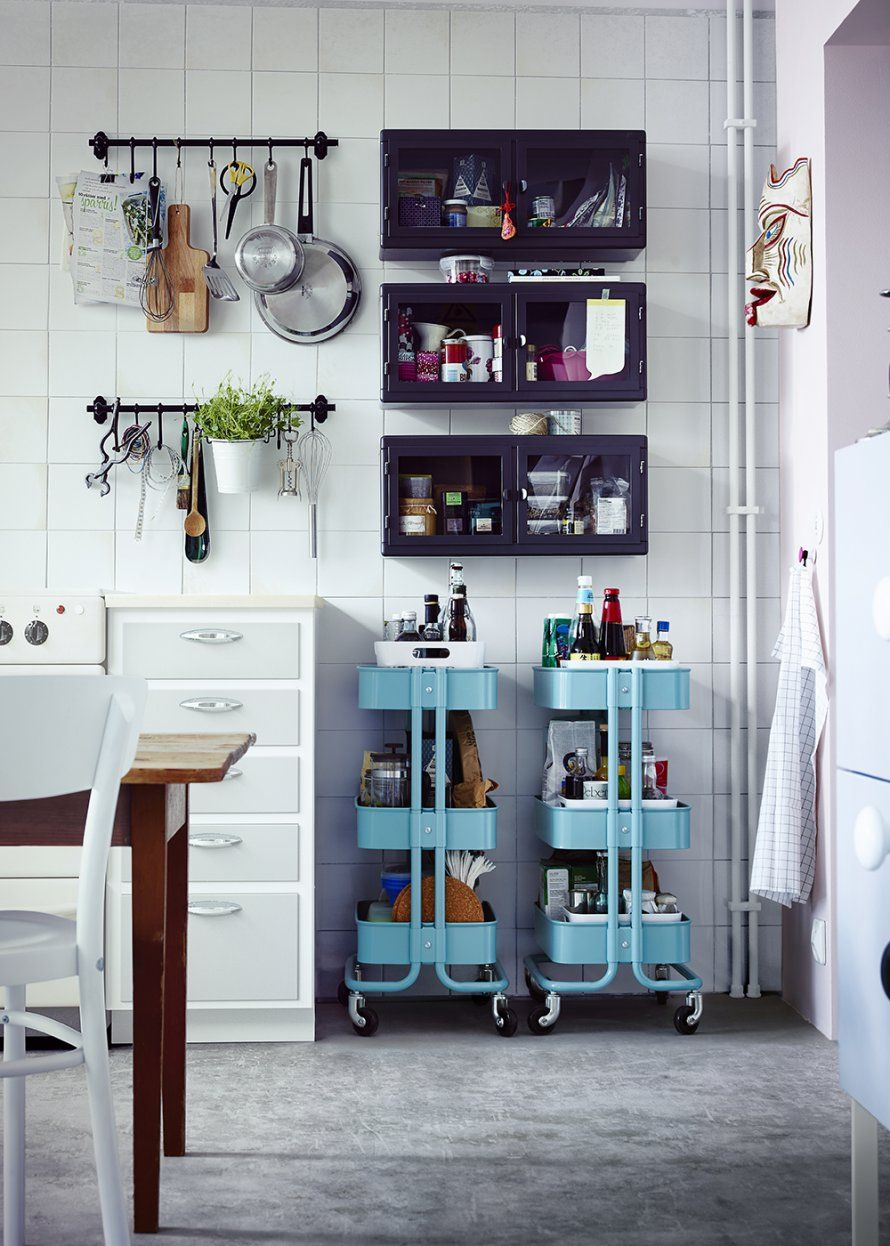 le secret des cuisines bien organis es interior kitchen pinterest k che esszimmer ikea. Black Bedroom Furniture Sets. Home Design Ideas