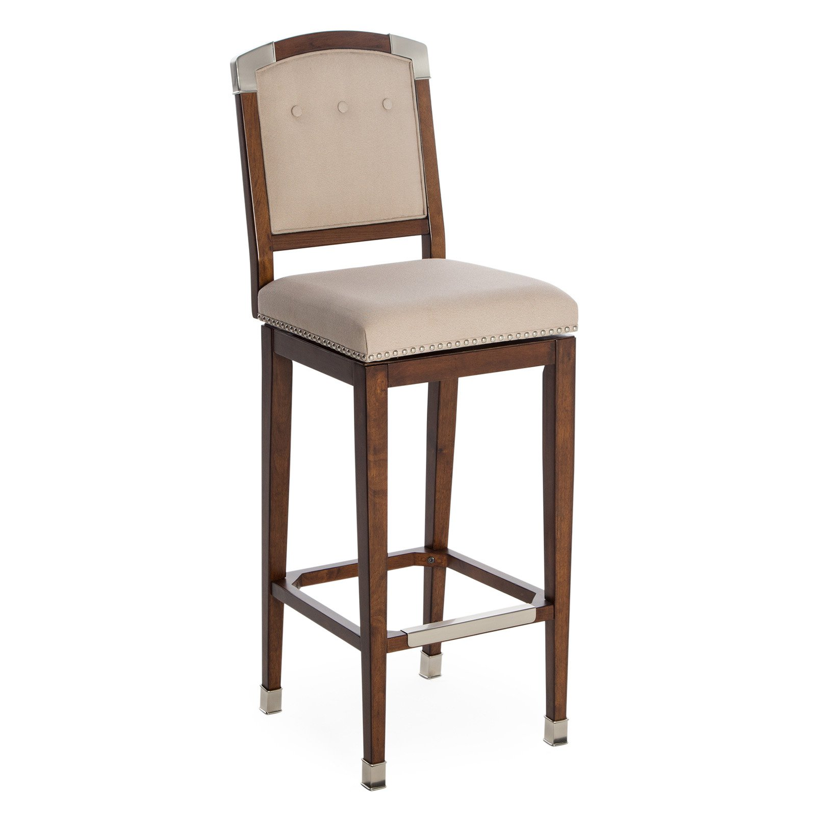 Strange Belham Living Kingston Extra Tall Bar Stool Ivory Products Machost Co Dining Chair Design Ideas Machostcouk