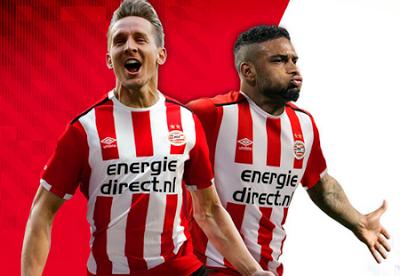 camisetas de futbol online 2018: Nueva camiseta del PSV Eindhoven