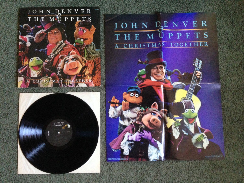 RARE, Vintage, John Denver & The Muppets - \