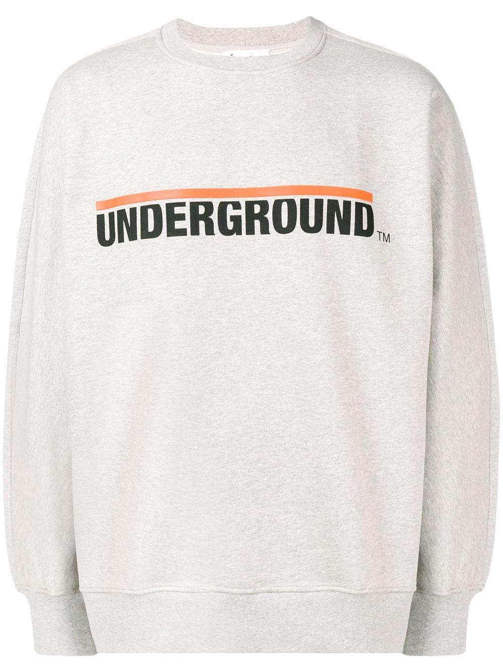 Sweater Underground Etudes Grey Études Studio wq6nWgXR1x