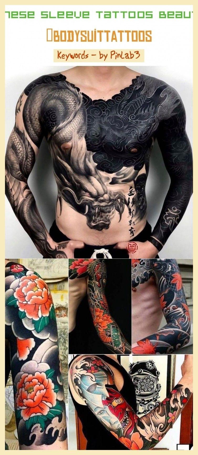 Japanese sleeve tattoos beautiful japanische Ärmeltattoos schön & tatouages japonais manches magnifiques & tatuajes japoneses