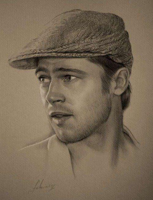 Retrato De Enrique Iglesias Pencil Portrait Pencil Drawings Portrait Sketches