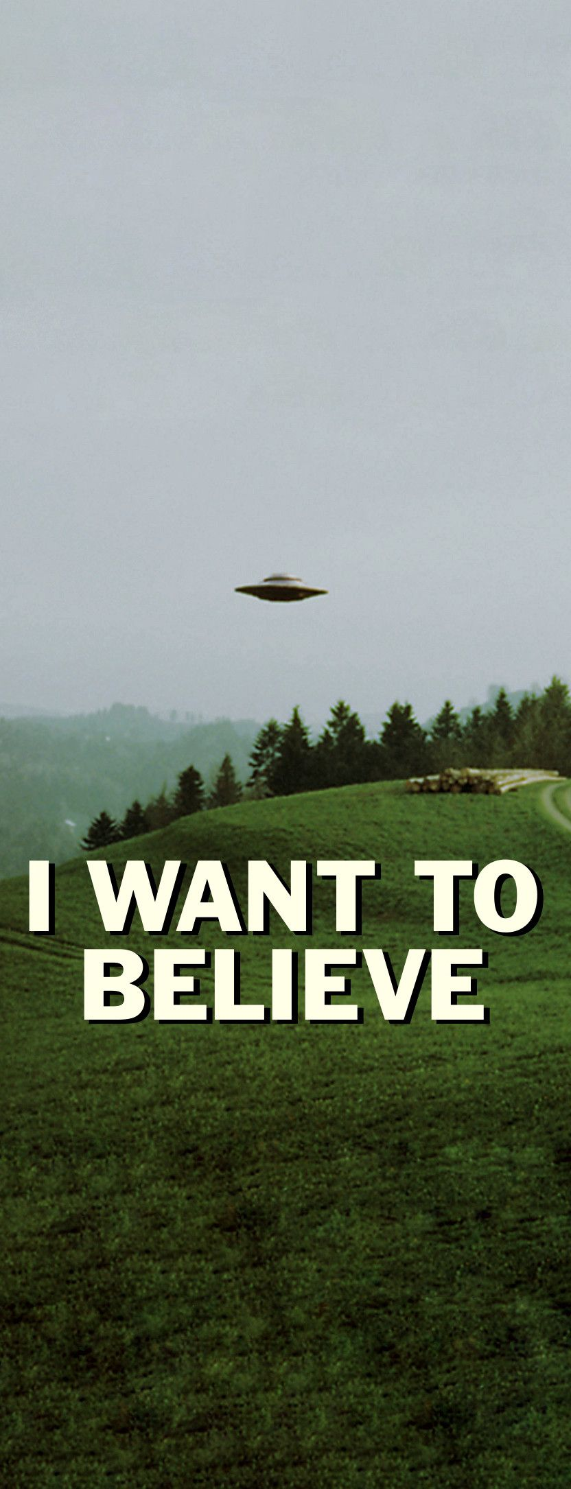 XFiles I Want To Believe X files, Phone wallpaper, 4k