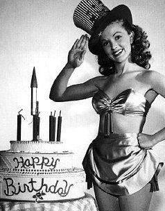 1940s Happy Birthday Photo