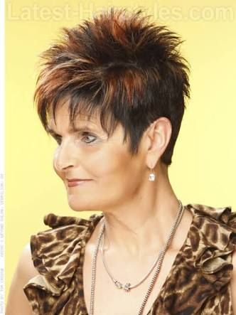 Short Spikey Hairstyles Fascinating Image Result For Short Spikey Hairstyles For Women Over 4050