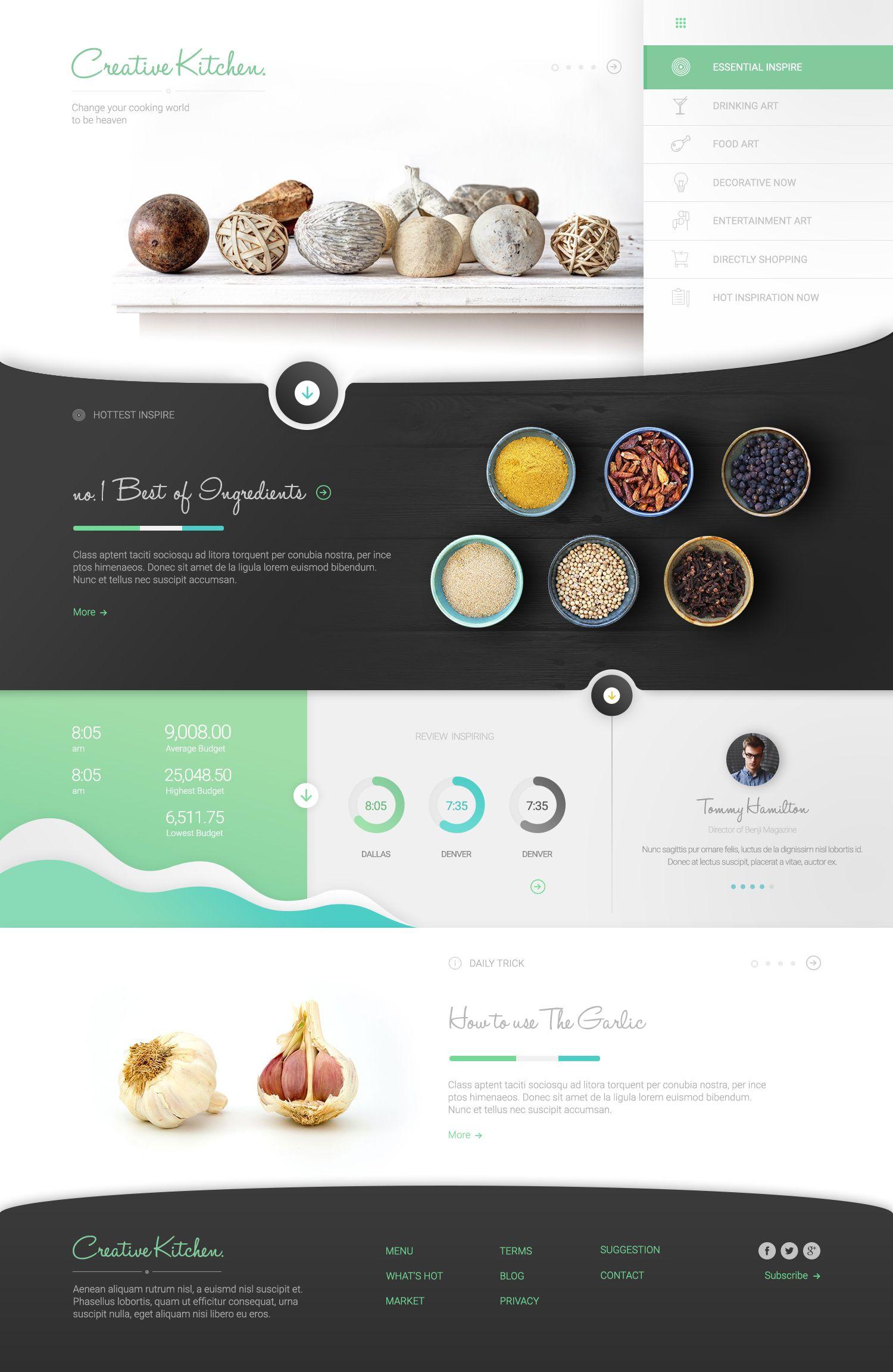 Beautiful minimal website designs for inspiration website designs