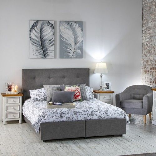 Queen Bed Frame With Storage Drawers