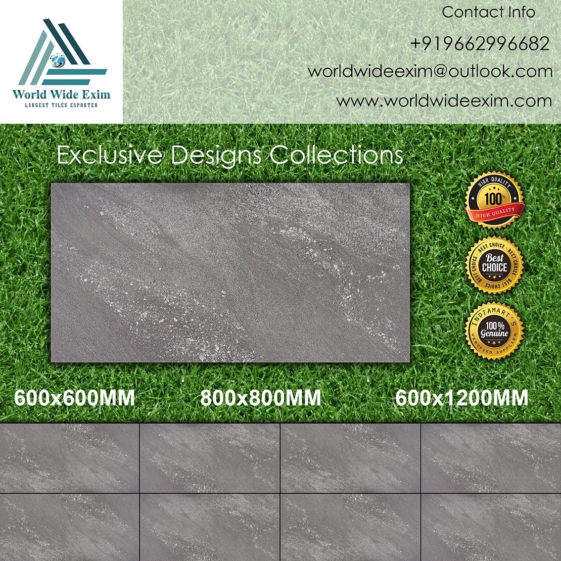 Manufacturer of Ceramic Wall&Floor Tiles,From INDIA.and We Export in ...