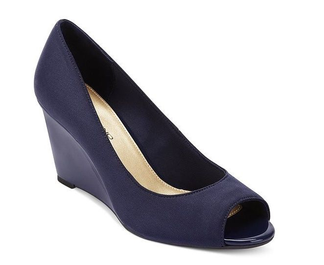 9174163abf3 navy blue comfortable wedding wedges - Google Search | Wedding ...