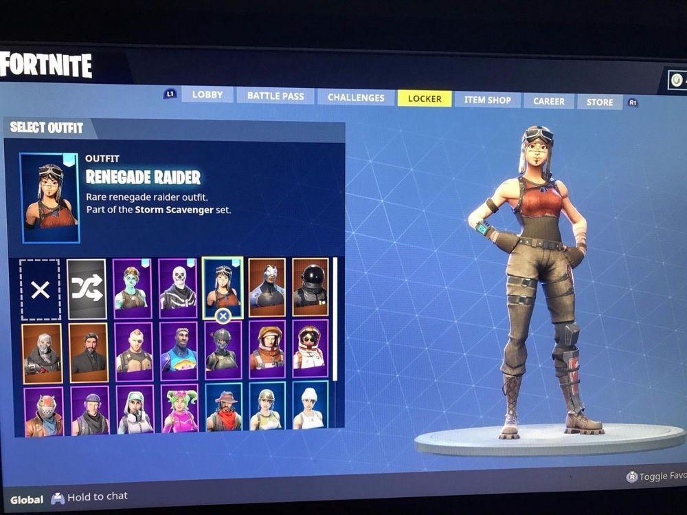super rare fortnite account with renegade raider and ghoul trooper fortnite canada game - rare fortnite account ghoul trooper