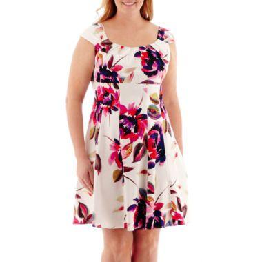 London style collection plus size dresses