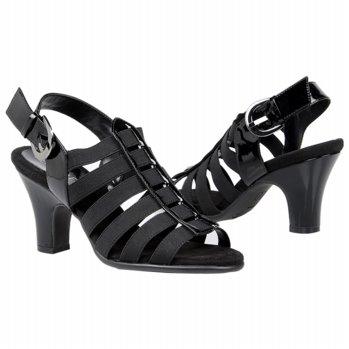Aerosoles Gin Rickey Shoes (Black Fabric) - Women's Shoes - M