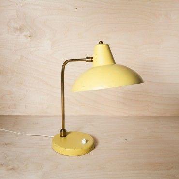 lampe de bureau annees 50 citronade