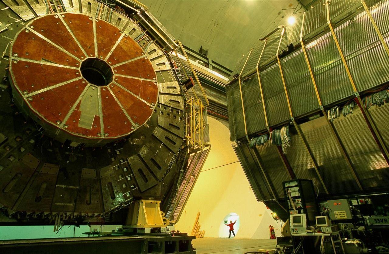 rocketumbl: CERN ALEPH detector