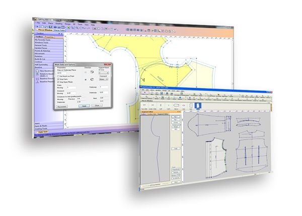 PDS - Pattern Design Software by OPTITEX  (Industry software