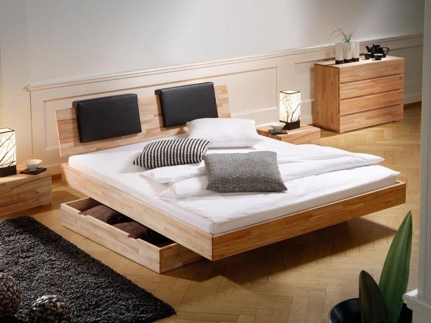 Queen Plattform Bett mit Lagerung | Haus Deko