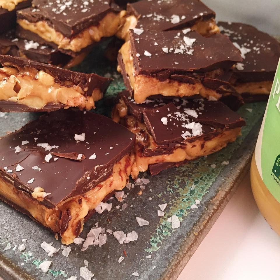 nyttig snickerskaka recept