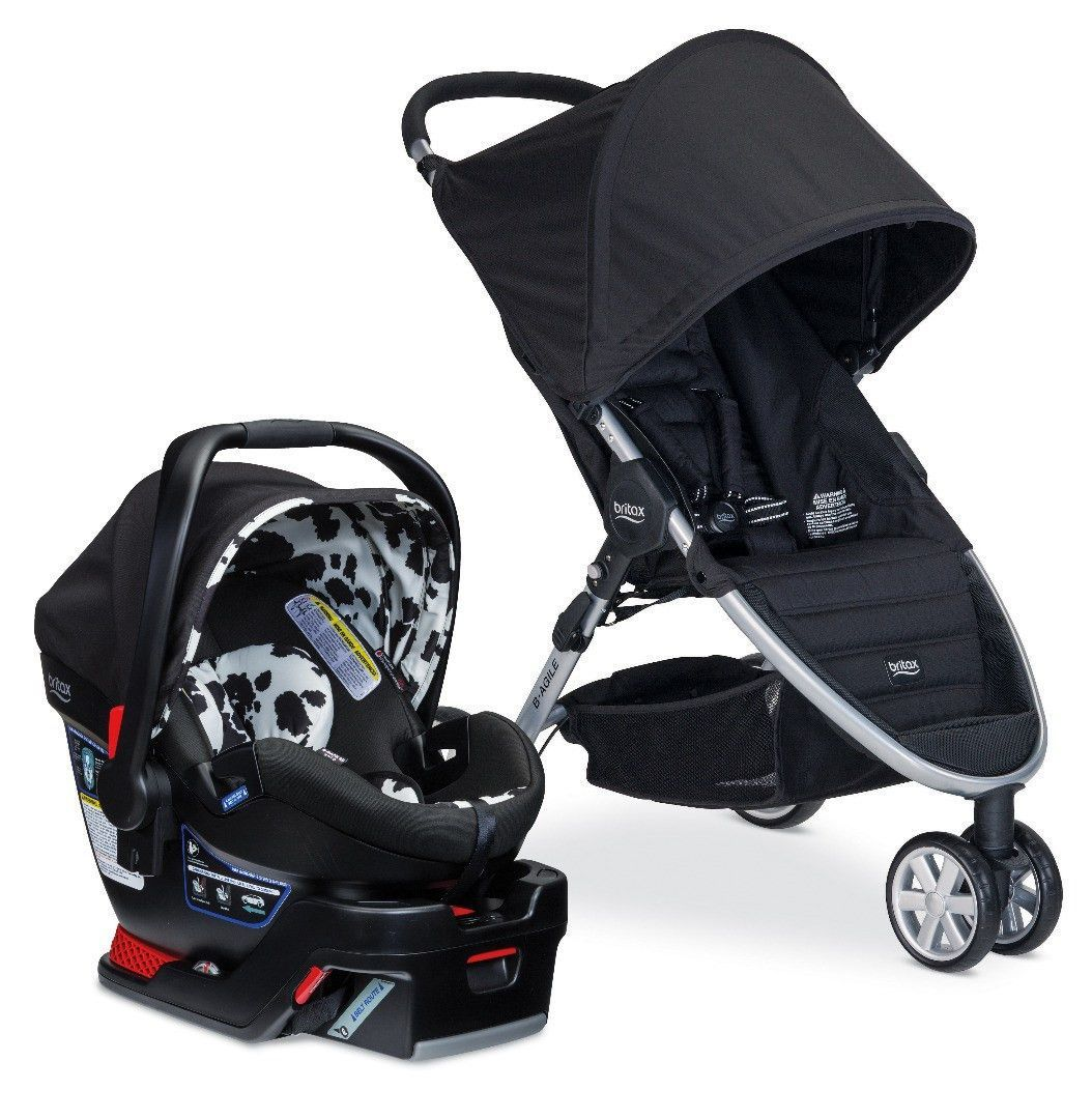 Britax Bagile 3 & BSafe 35 Elite Travel System Car
