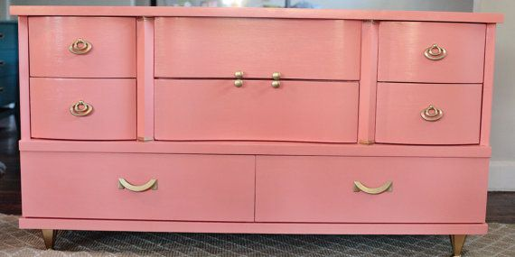 Best Beautiful Vintage Mid Century Bow Front Dresser By 400 x 300