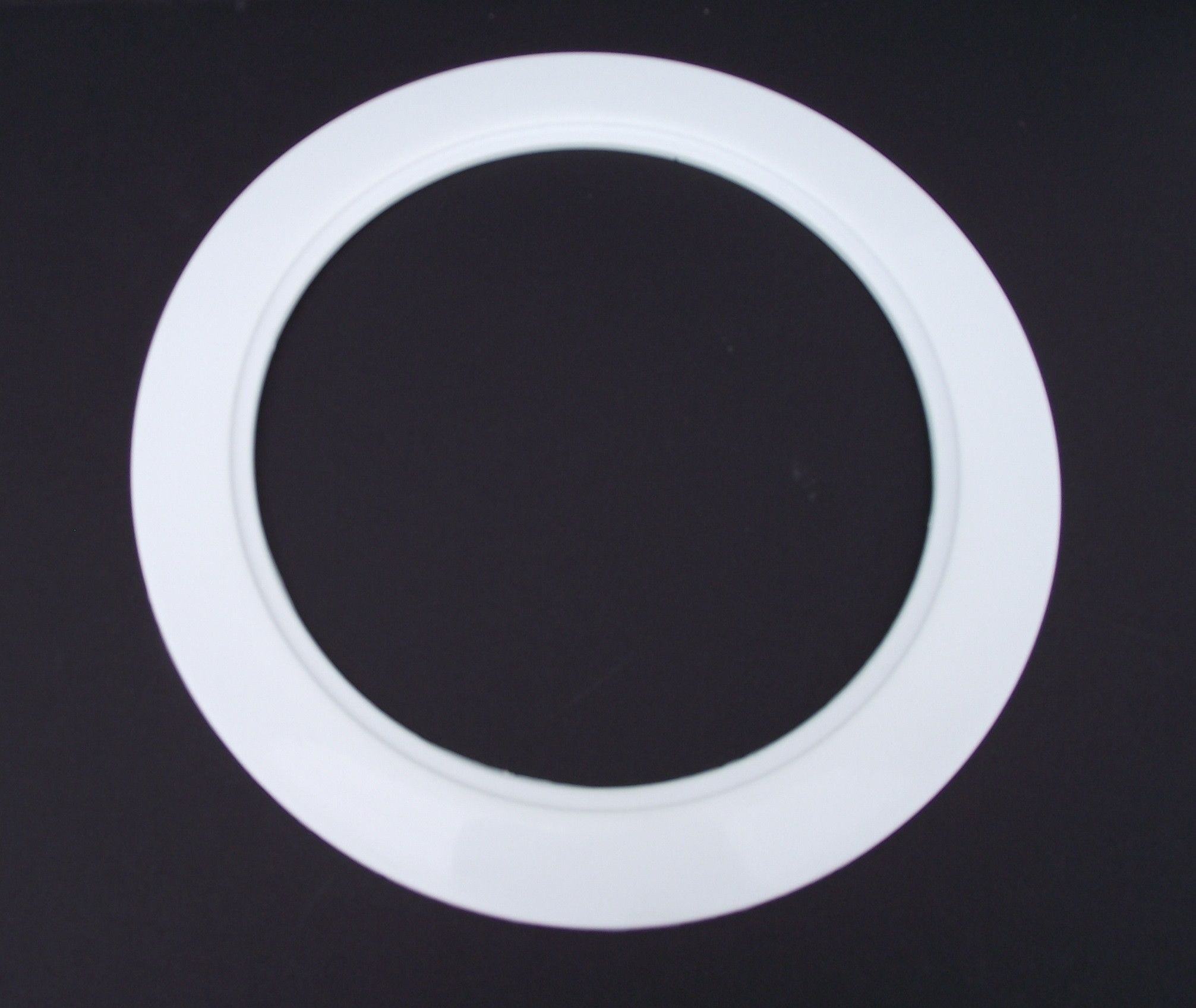 White light trim ring recessed can 6 inch regular sized lighting this is a new white color light trim ring it is designed for a 6 inch recessed trim ring ceiling light fixture the measurements of this recessed can aloadofball Choice Image