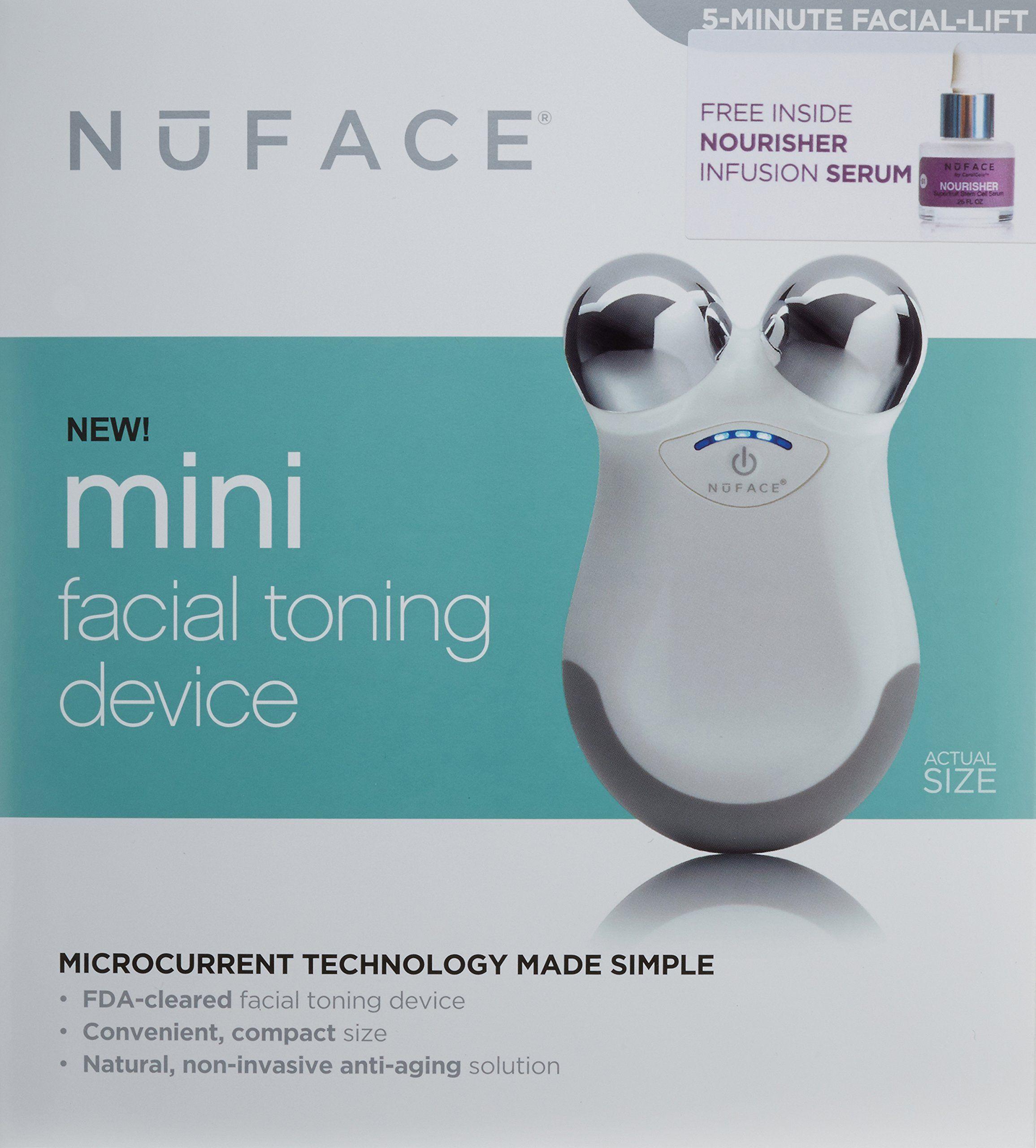 how to use nuface mini