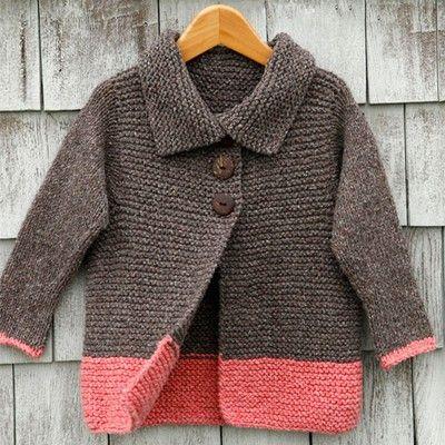 Kids Cardigan Free Knitting Pattern From Berroco Httpyarn