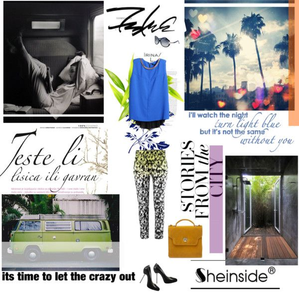 """it's time to let the crazy out"" by junelaze ❤ liked on Polyvore"